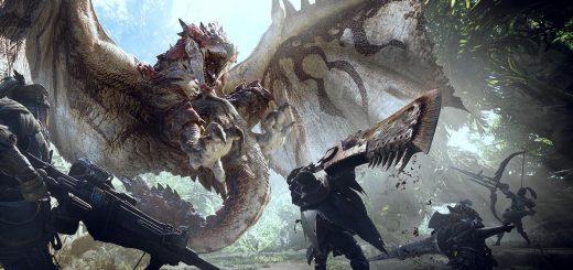 Monster Hunter World Banner