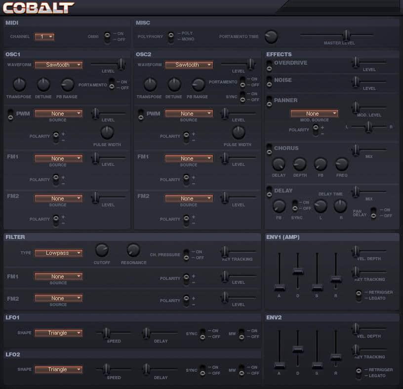 Sanford Cobalt