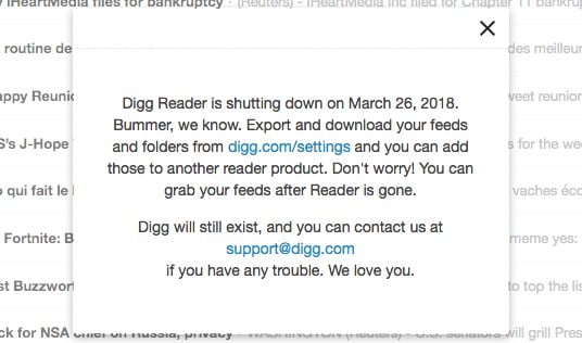 Digg Reader End 1