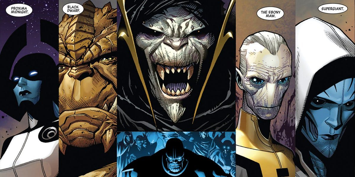 marvel comics black order