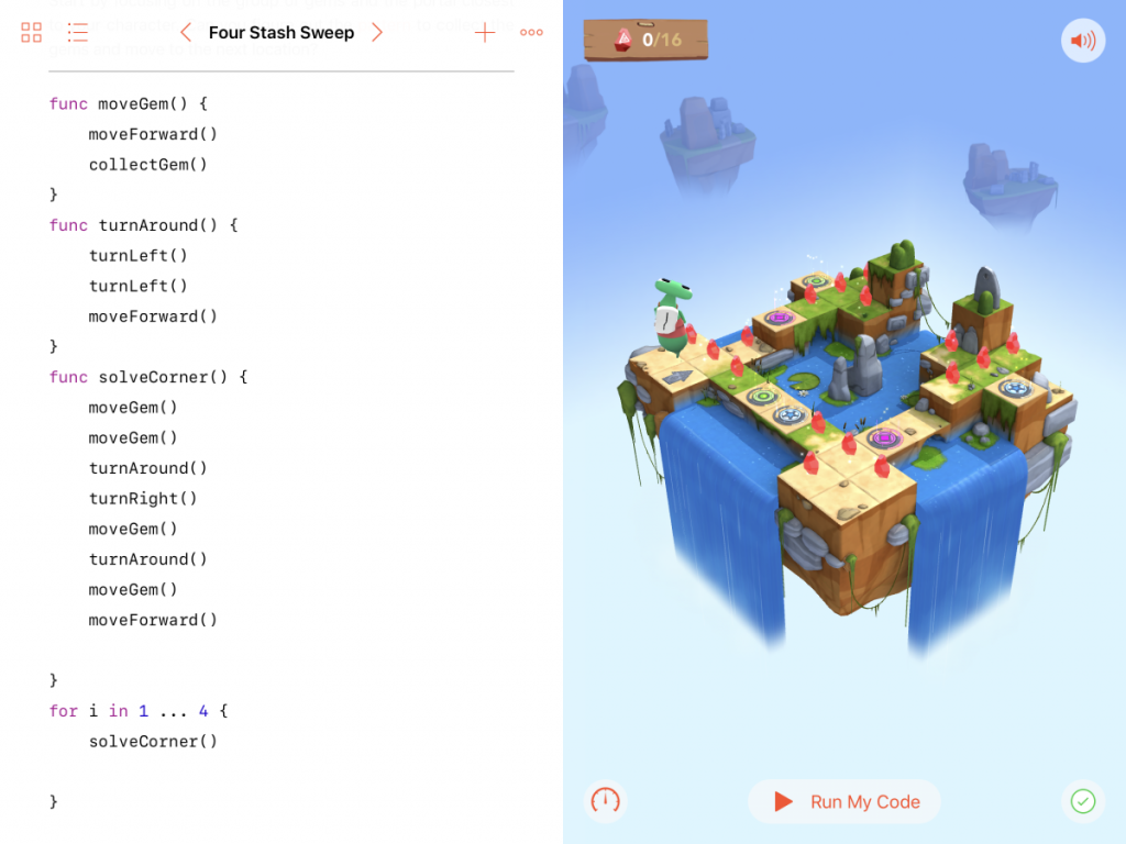 iPad Swift Playgrounds