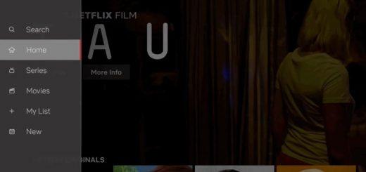 Nerflix New TV UI