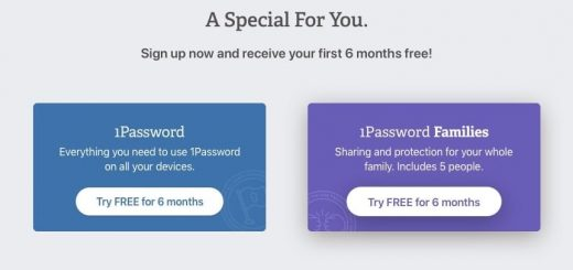 1Password promotion