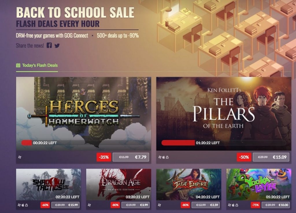 GoG Galaxy Back to School