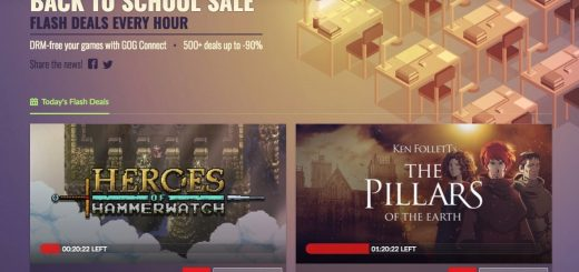 GoG Galaxy Back to School Banner