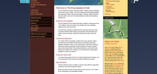The Encyclopedia of Arda