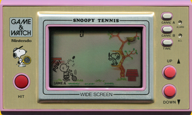 Game & Watch : Snoopy Tennis