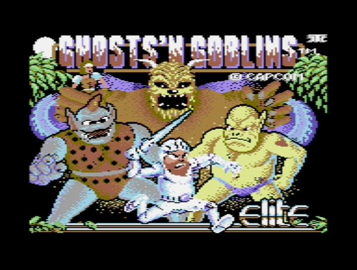 C64: Ghost 'n Goblins