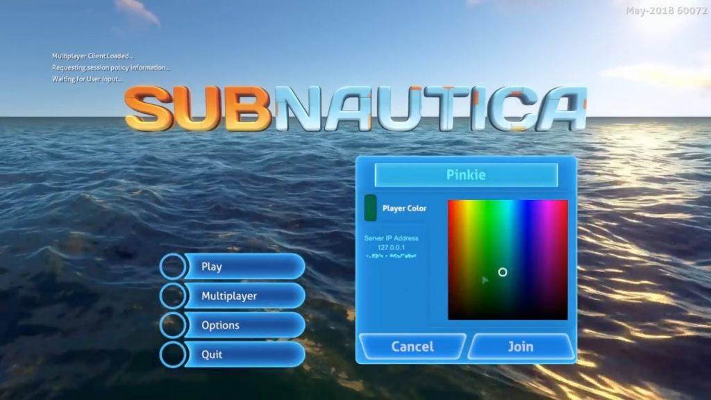 Subnautica Nitrox