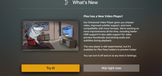 plex new video player