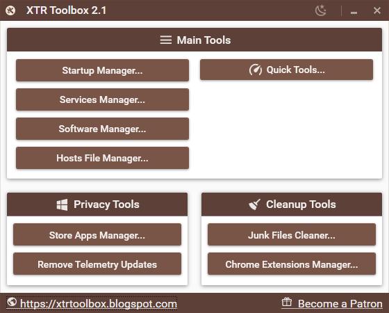 XTR-Toolbox