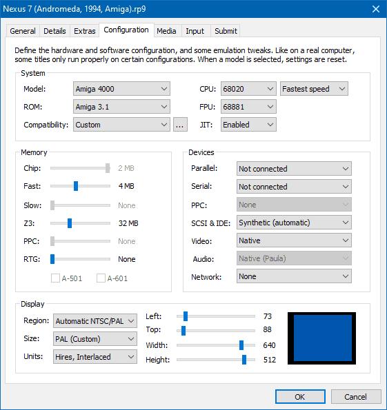 AmigaForever Demo Config