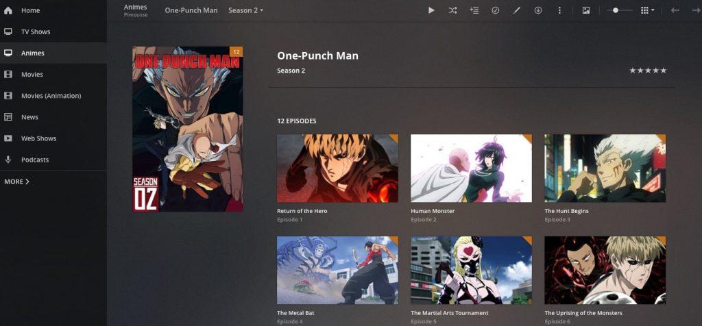 Plex Anime Banner