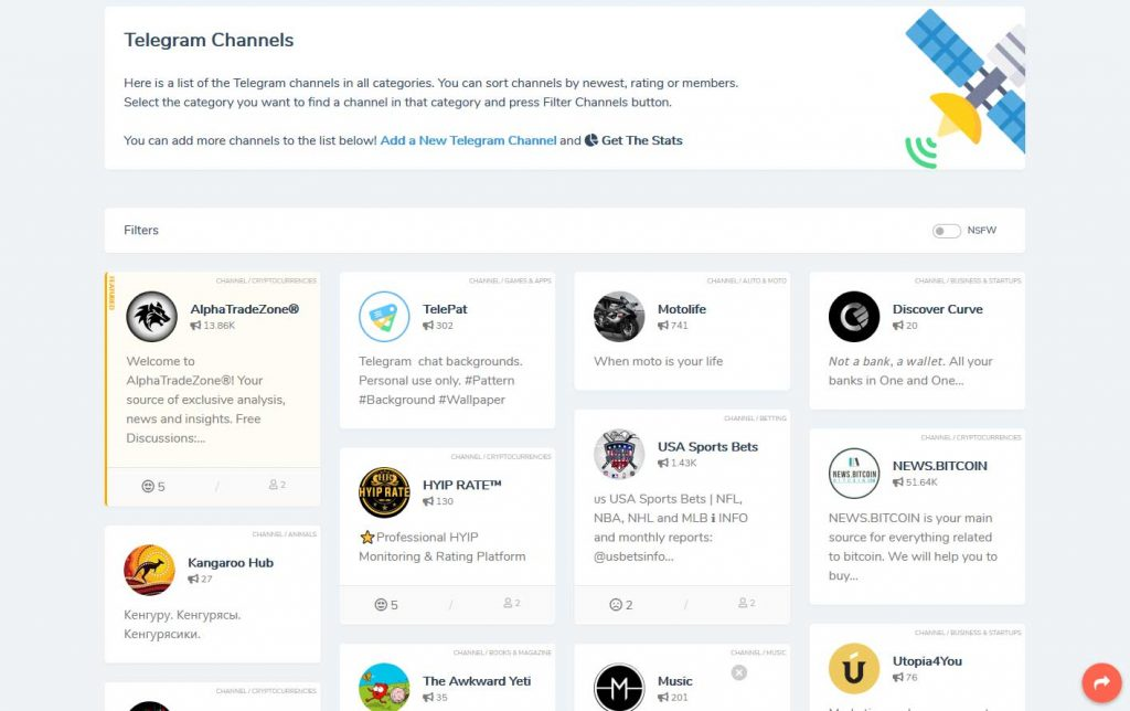 Telegram Channels
