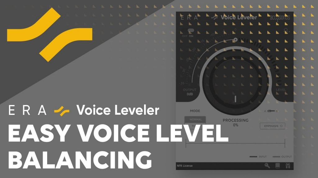 Voice Leveler