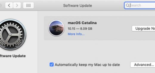 Catalina Update 1