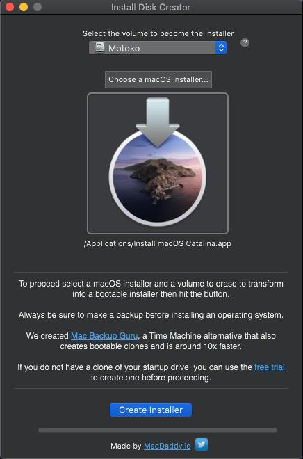 Install Disk Creator 2