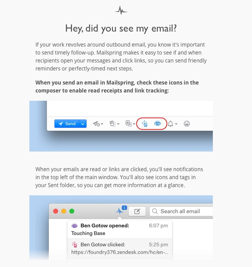Mailspring Mailing