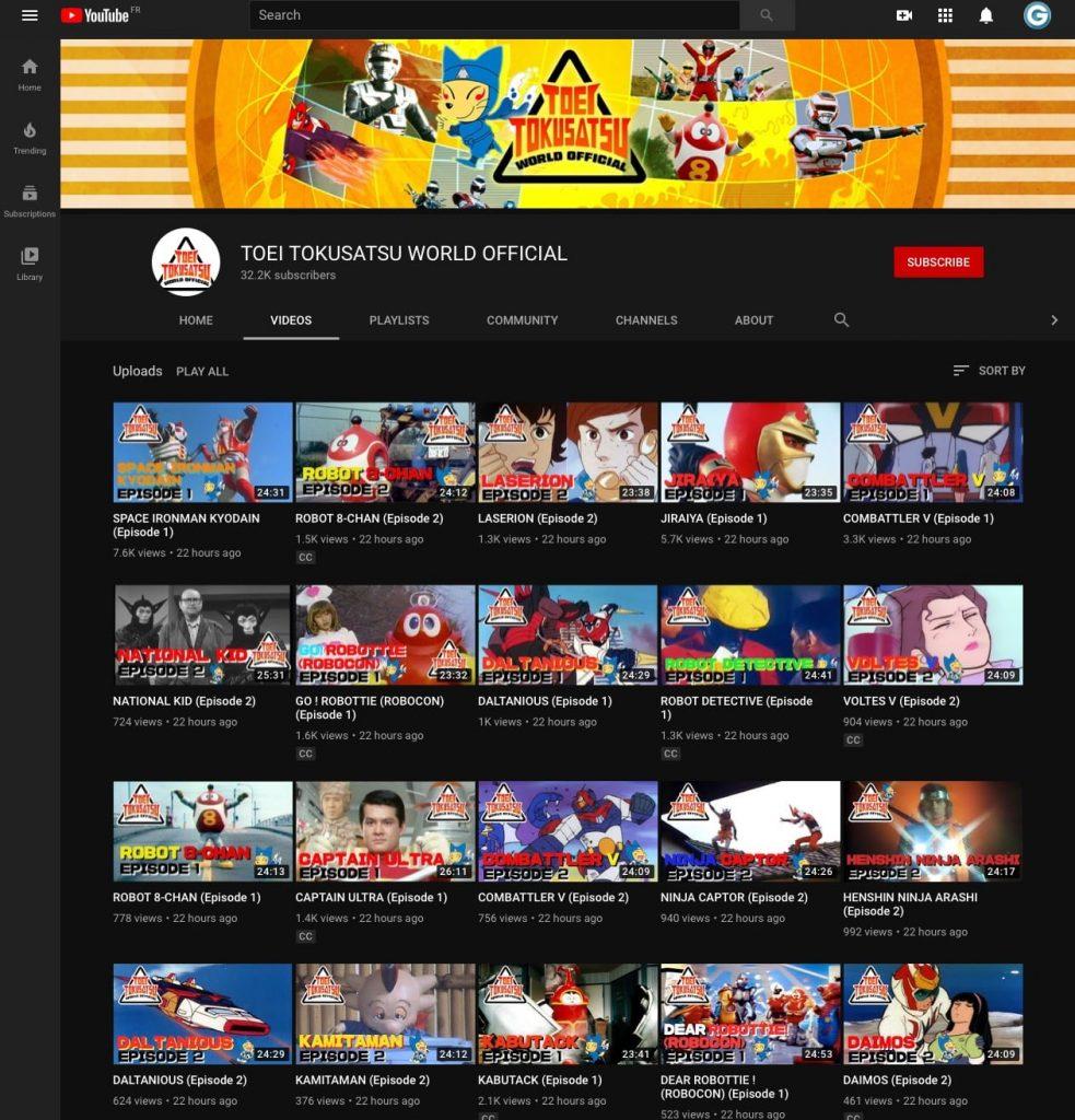 Toei YouTube