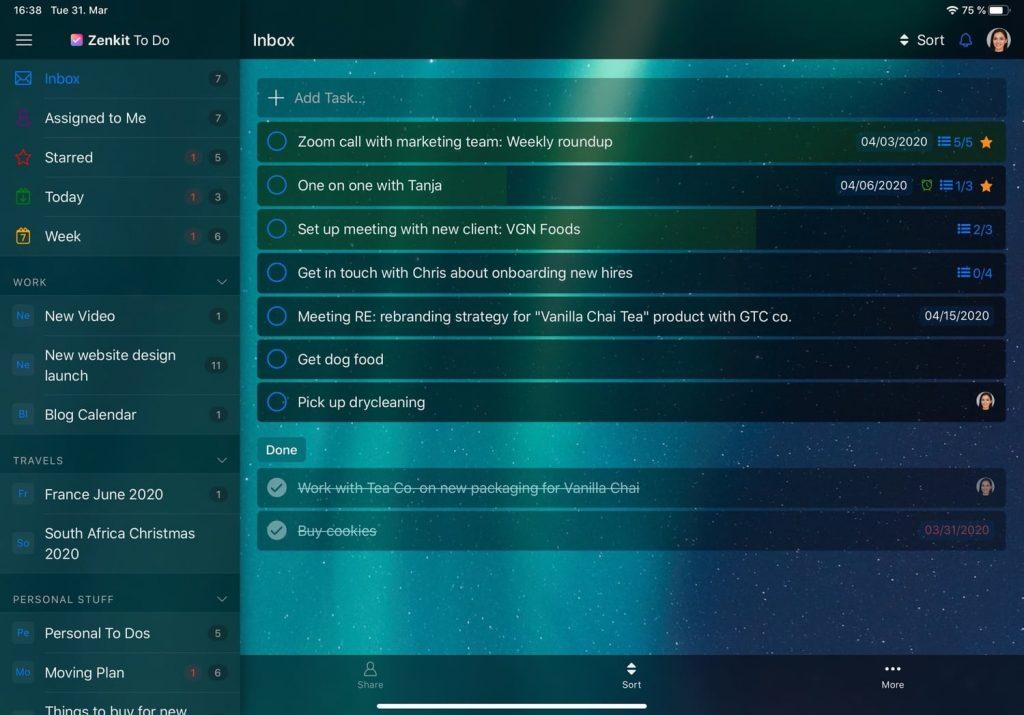 Zenkit_To_Do_Screenshot_iPad_Inbox_Dark-Mode