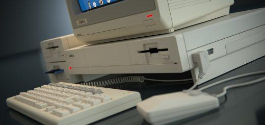 Amiga 1000 Render
